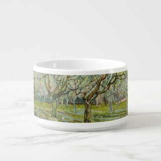 Van Gogh white orchard Bowl