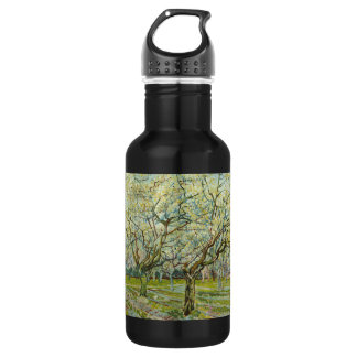 Van Gogh white orchard 18oz Water Bottle