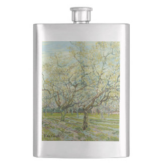 Van Gogh white orchard Flask