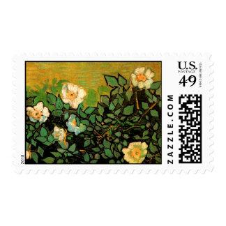Van Gogh Wild Roses (F597) Postage Stamps