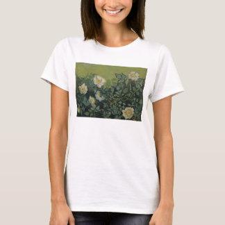Van Gogh Wild Roses, Vintage Garden Fine Art T-Shirt