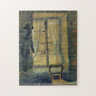 van Gogh-Window in the Bataille Restaurant Puzzle