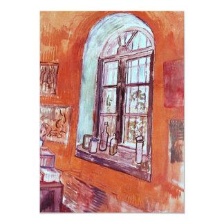 Van Gogh Window of Vincent's Studio at the Asylum Card