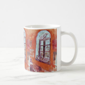 Van Gogh Window of Vincent's Studio at the Asylum Coffee Mug