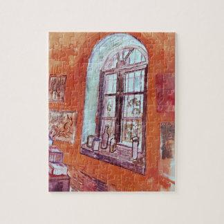 Van Gogh Window of Vincent's Studio at the Asylum Jigsaw Puzzle