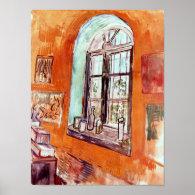 Van Gogh Window Of Vincent's Studio Poster
