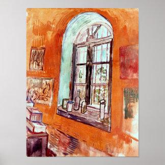 Van Gogh - Window Of Vincent's Studio Poster
