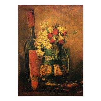 "Van Gogh Wine and Flowers Wedding Invitation 5"" X 7"" Invitation Card"