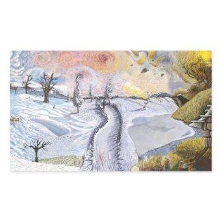Vincent van Gogh: Winter Landscape