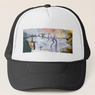 Van Gogh: Winter Landscape Trucker Hat