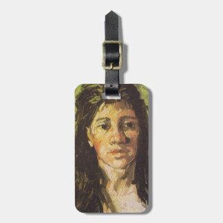 Van Gogh | Woman with her Hair Loose Bag Tag