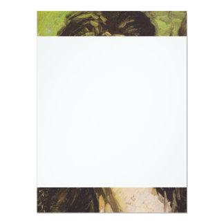 Van Gogh | Woman with her Hair Loose Card