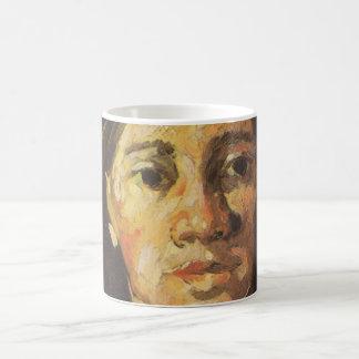 Van Gogh | Woman with her Hair Loose Coffee Mug