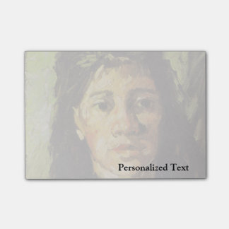 Van Gogh | Woman with her Hair Loose Post-it Notes