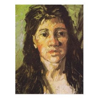 Van Gogh | Woman with her Hair Loose Postcard