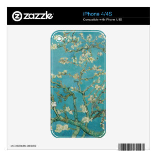 Van gogh's Almond Blossom Decals For The iPhone 4S