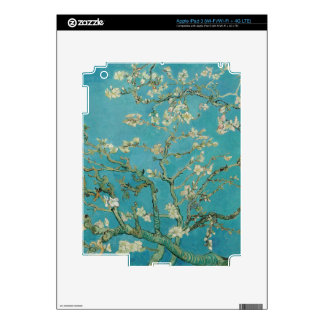 Van gogh's Almond Blossom iPad 3 Decals