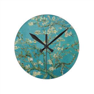 Van gogh's Almond Blossom Round Clock
