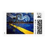 Van Gogh's Bay Bridge Stamps