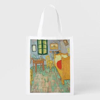 Van Gogh's Bedroom at Arles, 1889 Grocery Bags