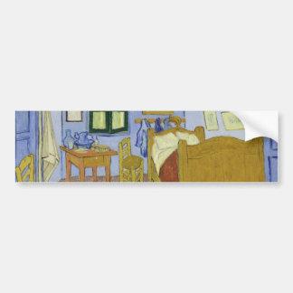 Van Gogh's Bedroom in Arles by Vincent Van Gogh Bumper Sticker