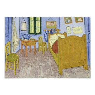 "Van Gogh's Bedroom in Arles by Vincent Van Gogh 5"" X 7"" Invitation Card"