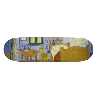 Van Gogh's Bedroom in Arles by Vincent Van Gogh Skateboard Deck
