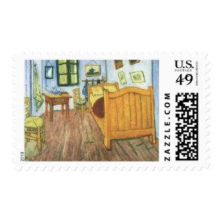 Van Gogh's Bedroom in Arles Stamps