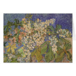 Van Gogh's Blossoming Chestnut Branches Greeting Card