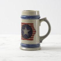 Van Gogh's Bonnie Blue Flag Beer Stein