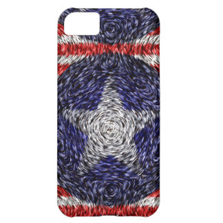 Van Gogh's Bonnie Blue Flag Cover For iPhone 5C