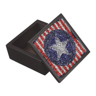 Van Gogh's Bonnie Blue Flag Jewelry Box