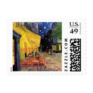 Van Gogh's 'Cafe Terrace' Stamp