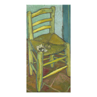 Van Gogh's Chair by Vincent Van Gogh Card
