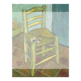 Van Gogh's Chair by Vincent Van Gogh Flyer
