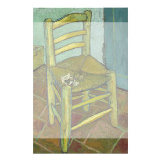 Van Gogh's Chair by Vincent Van Gogh Custom Flyer