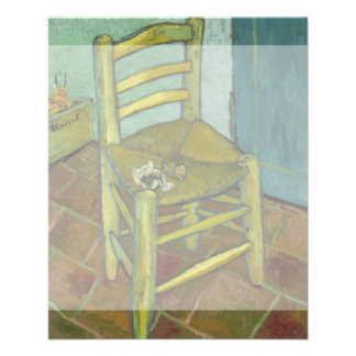Van Gogh's Chair by Vincent Van Gogh Personalized Flyer