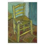 Van Gogh's Chair by Vincent Van Gogh Greeting Card