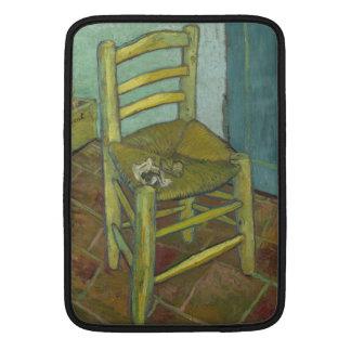 Van Gogh's Chair by Vincent Van Gogh Sleeve For MacBook Air