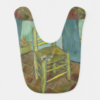 Van Gogh's Chair by Vincent Van Gogh Baby Bib