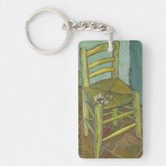 Van Gogh's Chair Keychain