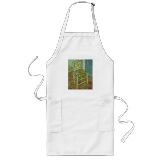 Van Gogh's Chair Long Apron