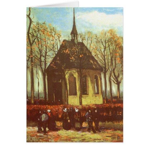 Van Gogh's Chapel at Nuenen Card