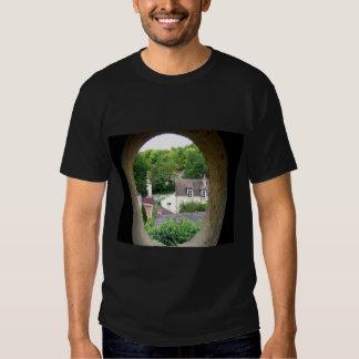 van goghs final view  window by attic room deathbe shirt