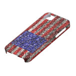 Van Gogh's Flag of the United States iPhone 5 Cases