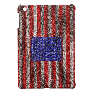 Van Gogh's Flag of the United States Cover For The iPad Mini