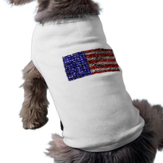 Van Gogh's Flag of the United States Pet Clothes