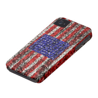 Van Gogh's Flag of the United States iPhone 4 Cases