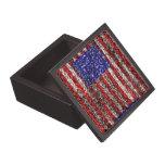 Van Gogh's Flag of the United States Premium Jewelry Box
