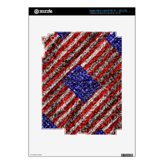 Van Gogh's Flag of the United States Skin For iPad 3